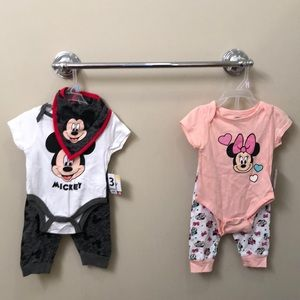 Disney Mickey and Minnie Mouse Outfits
